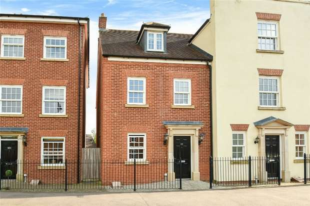 4 Bedrooms End Of Terrace House for sale in Greenkeepers Road, Great Denham, Bedford
