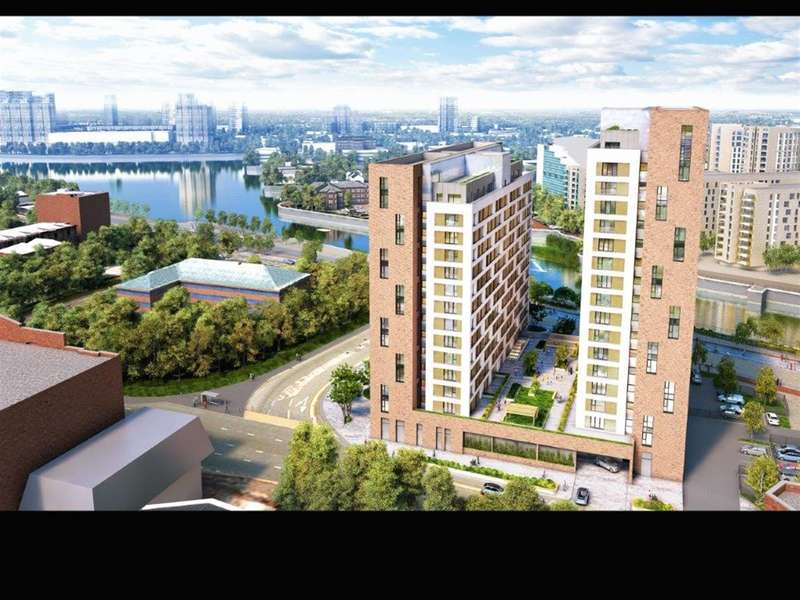 1 Bedroom Flat for sale in Trafford Wharf, Manchester, M17 1AB