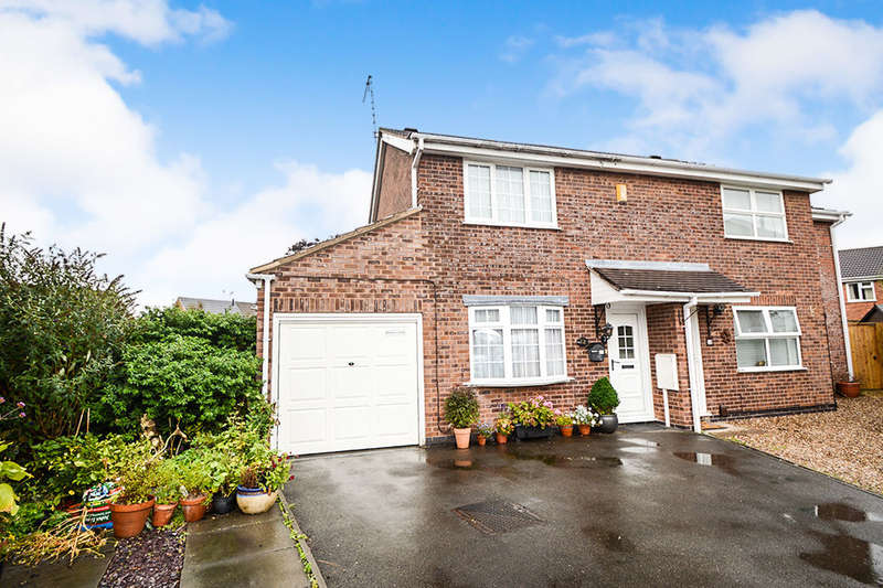 2 Bedrooms Semi Detached House for sale in Wolsey Close, Leicester Forest East, Leicester, LE3