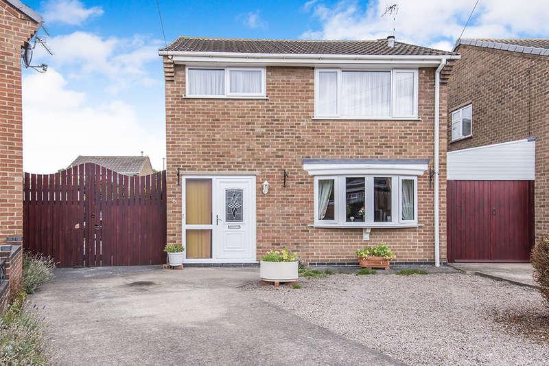 3 Bedrooms Detached House for sale in Monsarrat Way, Loughborough, LE11