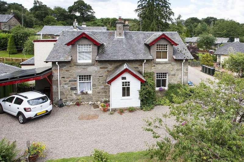 3 Bedrooms Semi Detached House for sale in Grandtully, Aberfeldy