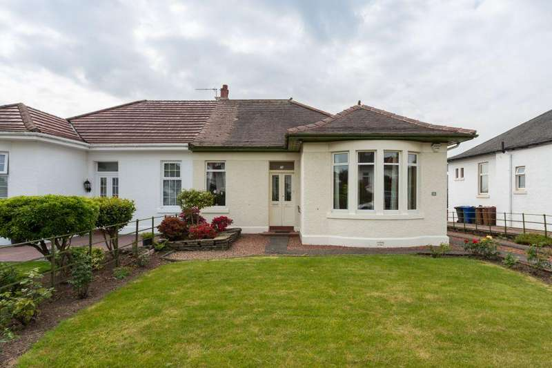 4 Bedrooms Semi Detached Bungalow for sale in 36 Roffey Park Road, Paisley, PA1 3JL