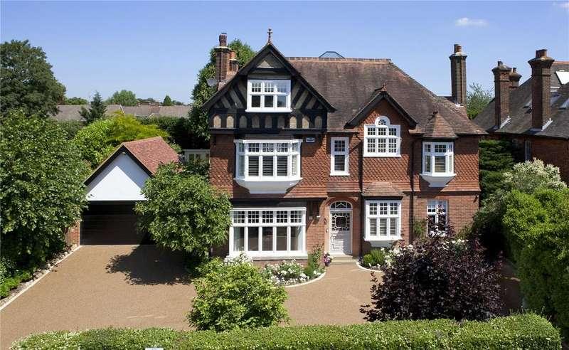 7 Bedrooms Detached House for sale in Yardley Park Road, Tonbridge, Kent, TN9