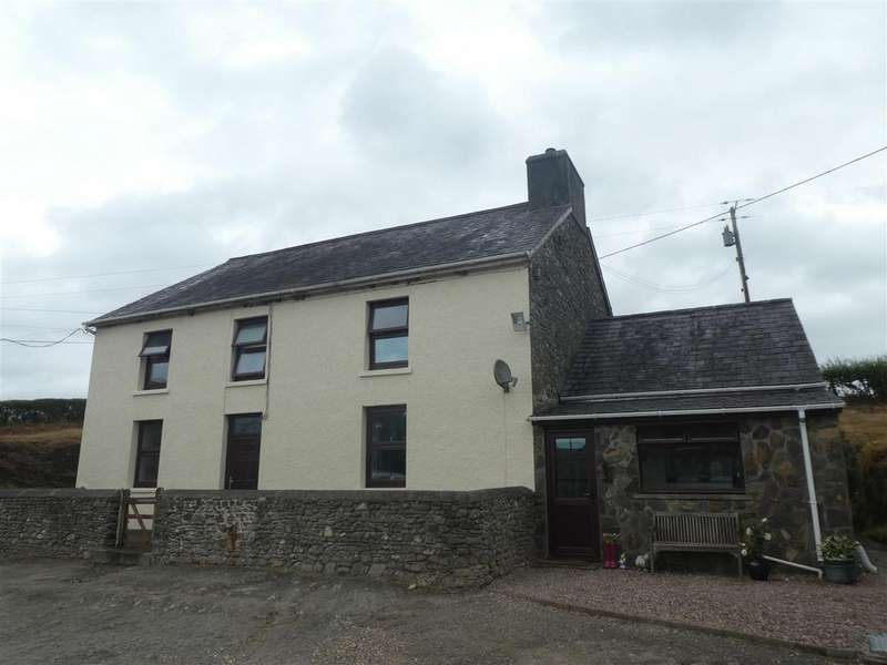 4 Bedrooms Farm Land Commercial for sale in Crugybar, Llanwrda