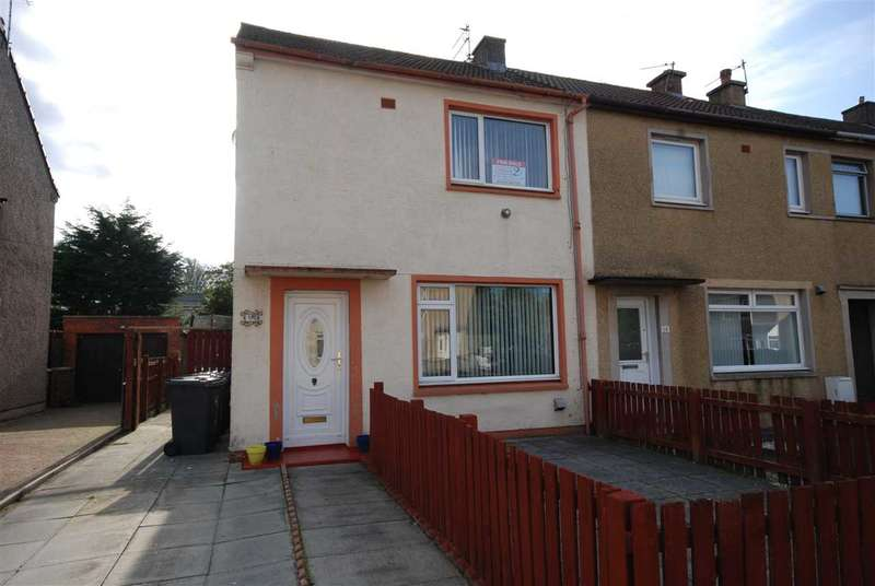 2 Bedrooms End Of Terrace House for sale in White Craig Road, Ardrossan