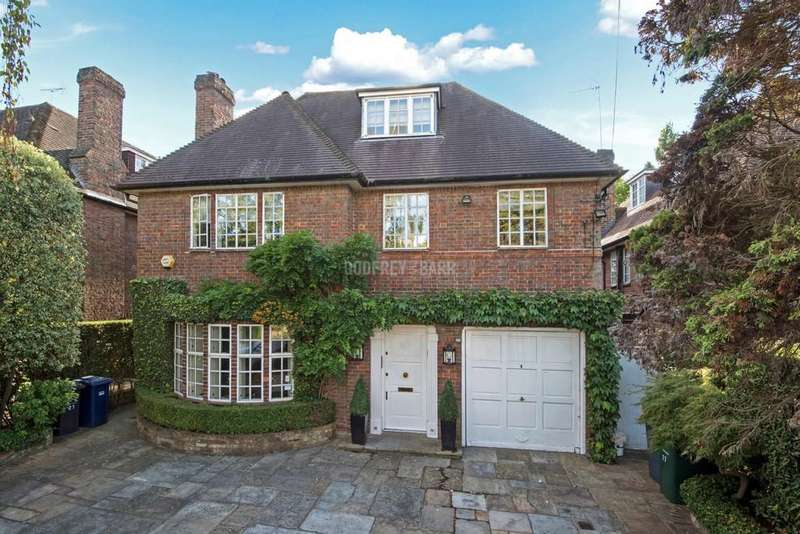 6 Bedrooms Detached House for sale in Holne Chase, Hampstead Garden Suburb