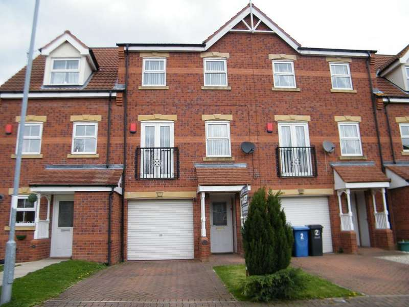 3 Bedrooms Town House for sale in The Rowans, Gainsborough