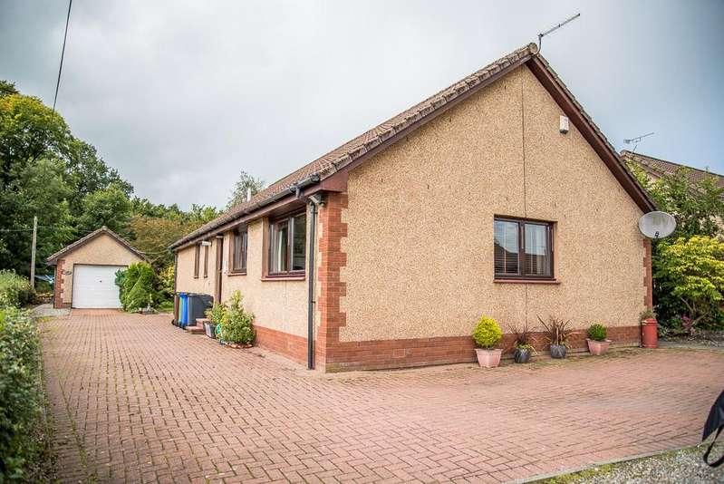 3 Bedrooms Detached Bungalow for sale in Newlands Court, Old Plean, Falkirk, Stirlingshire FK7 8BP
