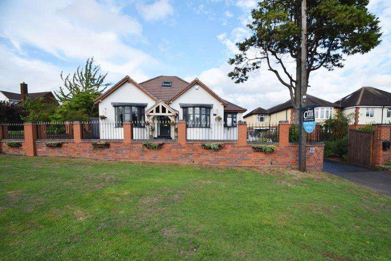4 Bedrooms Detached Bungalow for sale in Walsall Road, Churchbridge, Cannock