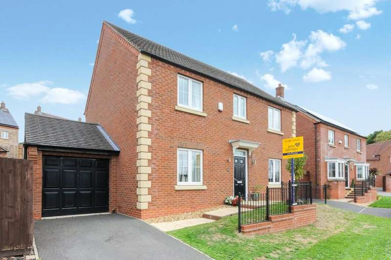 4 Bedrooms Detached House for sale in Sharter Drive, Loughborough