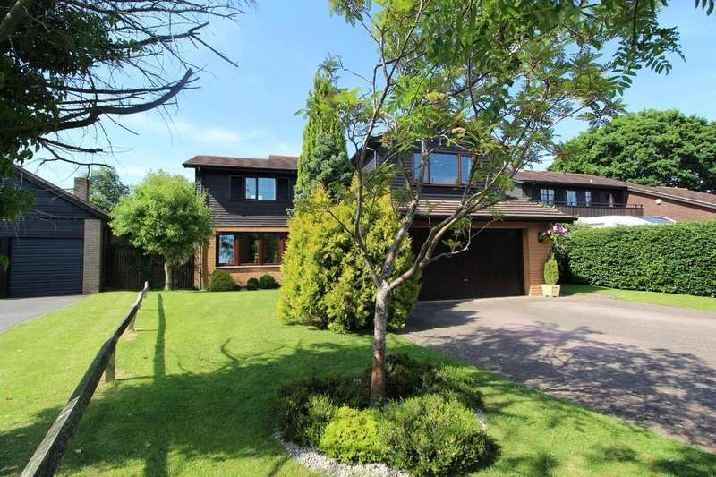 5 Bedrooms Detached House for sale in Rickford Road, Nailsea