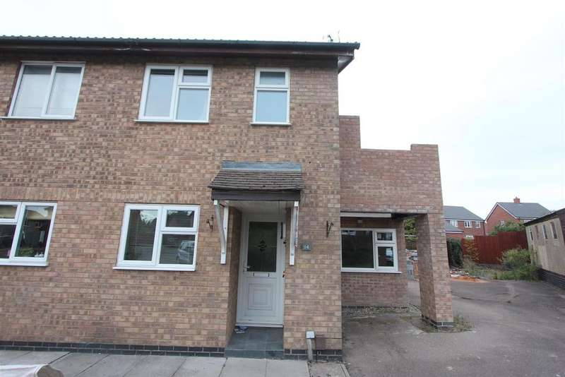 2 Bedrooms Semi Detached House for sale in Armadale Close, Hinckley