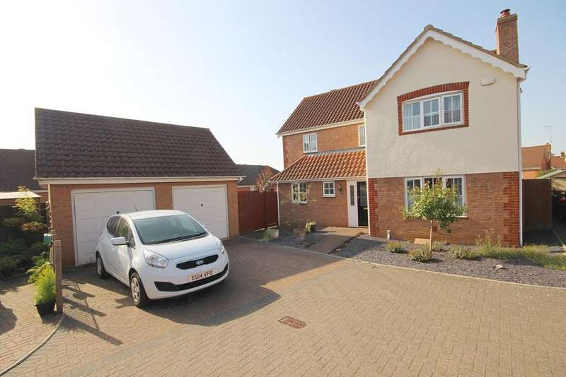 4 Bedrooms Detached House for sale in Rushmoor Drive, Braintree, CM7