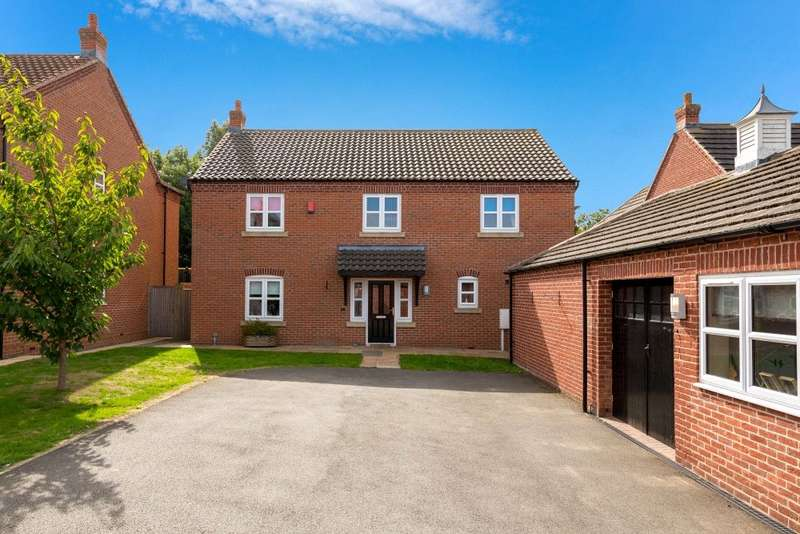 5 Bedrooms Detached House for sale in Twyford Gardens, Grantham, NG31