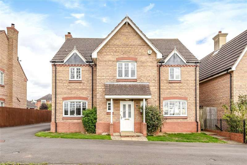 5 Bedrooms Detached House for sale in Dent Close, St Crispins, Duston, Northampton, NN5