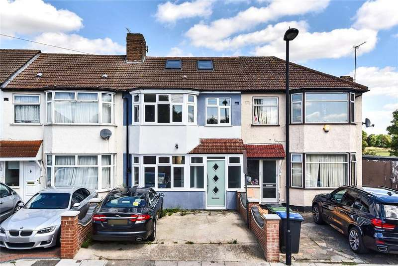 4 Bedrooms Terraced House for sale in Rayleigh Road, Palmers Green, London, N13