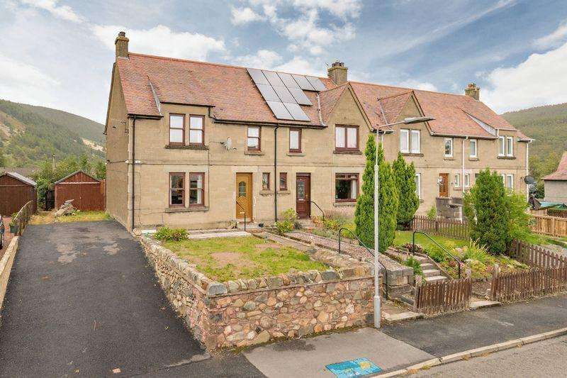 3 Bedrooms End Of Terrace House for sale in 26 George Street, Innerleithen, EH44 6LH