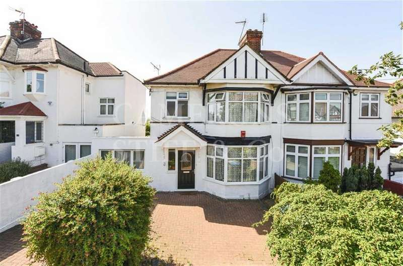 3 Bedrooms Semi Detached House for sale in Peter Avenue, Willesden Green, London, NW10