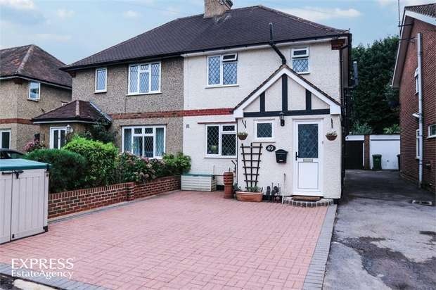 3 Bedrooms Semi Detached House for sale in Lowbell Lane, London Colney, St Albans, Hertfordshire