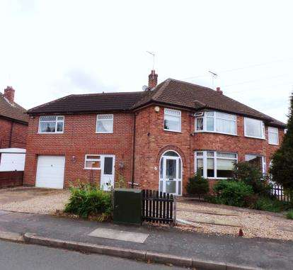 4 Bedrooms Semi Detached House for sale in Horndean Avenue, Wigston Fields, Leicester, Leicestershire