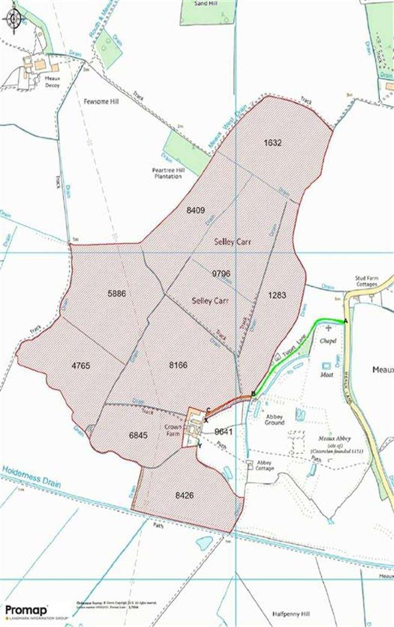 Property for sale in Meaux, Nr Beverley, East Yorkshire