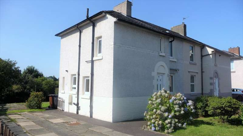 2 Bedrooms Semi Detached House for sale in Beechwood Gardens, Bellshill, ML4