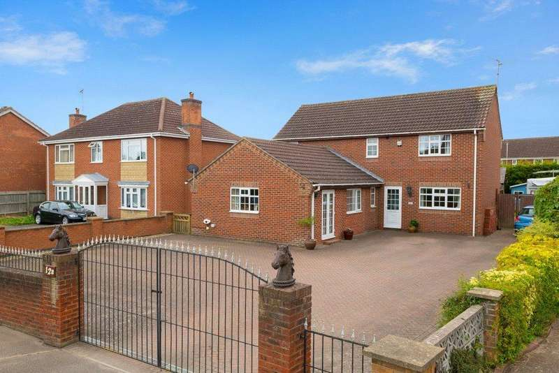 4 Bedrooms Detached House for sale in Spalding Road, Bourne, PE10