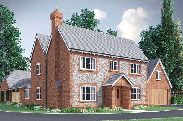 4 Bedrooms Detached House for sale in Oakwood Gate II, Hemel Hempstead, Hertfordshire