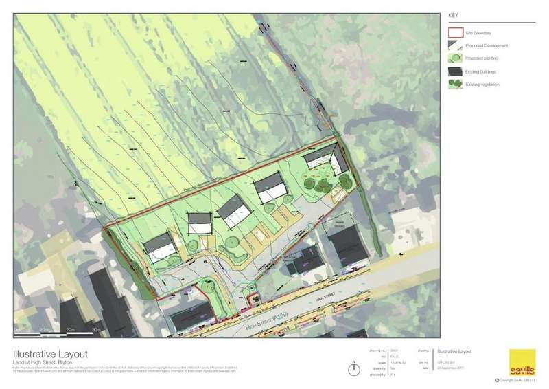 Land Commercial for sale in High Street, Blyton, Gainsborough, Lincolnshire, DN21