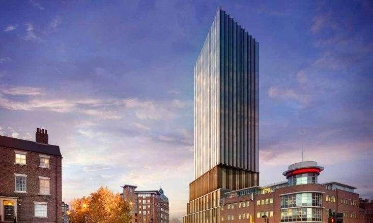 2 Bedrooms Apartment Flat for sale in Hadrian's Tower, Rutherford Street, Newcastle upon Tyne, Tyne and Wear, NE4 5DP