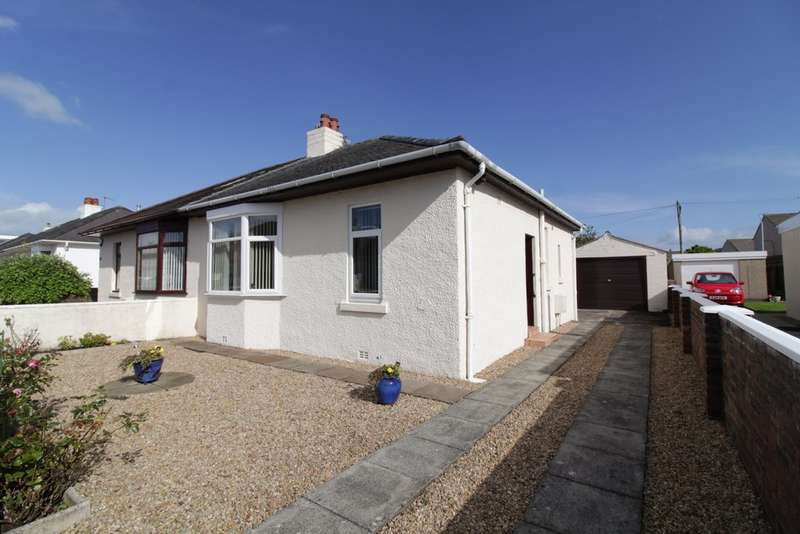 2 Bedrooms Semi Detached Bungalow for sale in Bentfield Drive, Prestwick, KA9