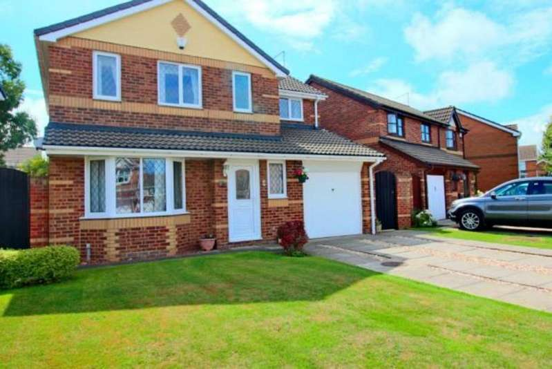 4 Bedrooms Detached House for sale in Comorant Drive