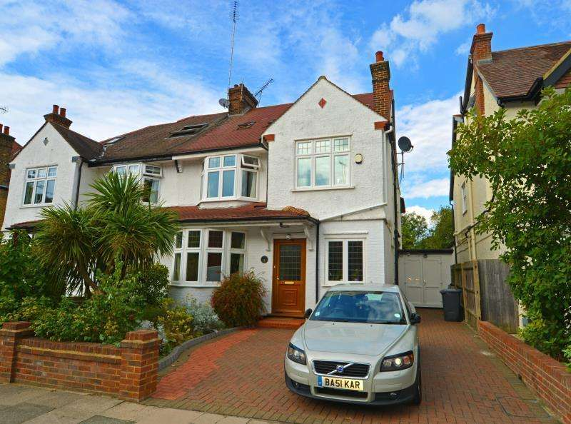 5 Bedrooms Semi Detached House for sale in Fordington Road, N6