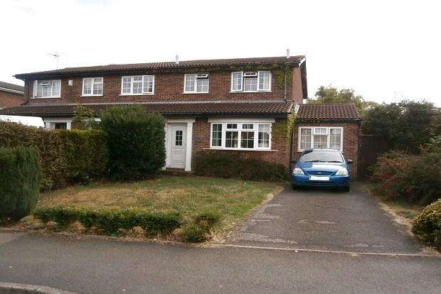 3 Bedrooms Semi Detached House for sale in Pine Tree Avenue, Groby, LE6