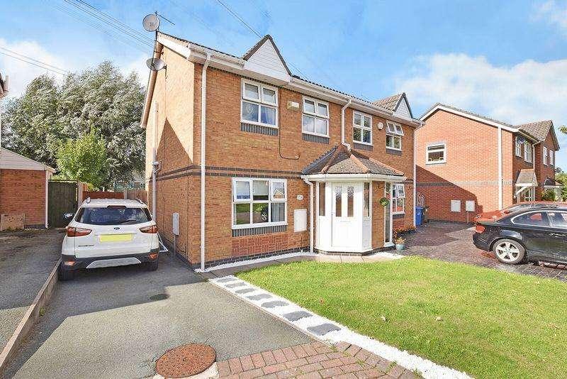 3 Bedrooms Semi Detached House for sale in Tetchill Close, Runcorn