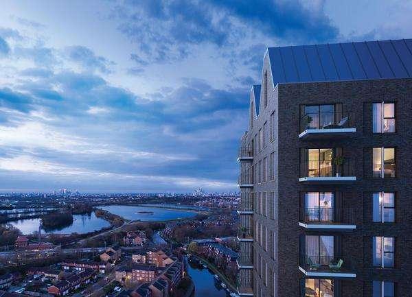 2 Bedrooms Apartment Flat for sale in RISE, Lock17, Tottenham Hale