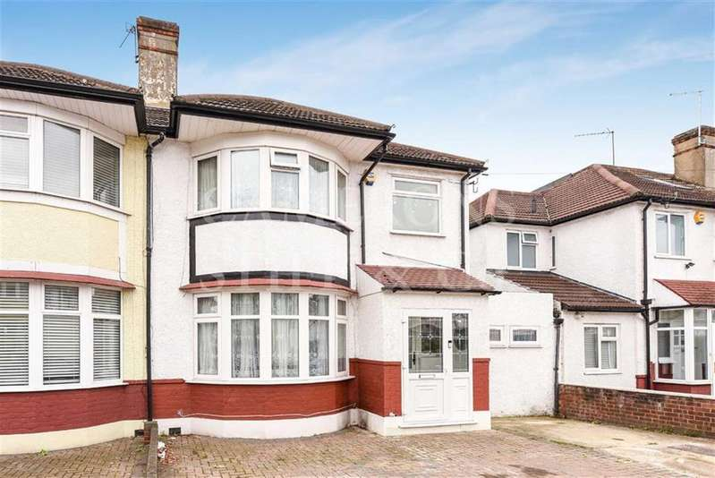 3 Bedrooms Semi Detached House for sale in Dewsbury Road, Dollis Hill, London, NW10