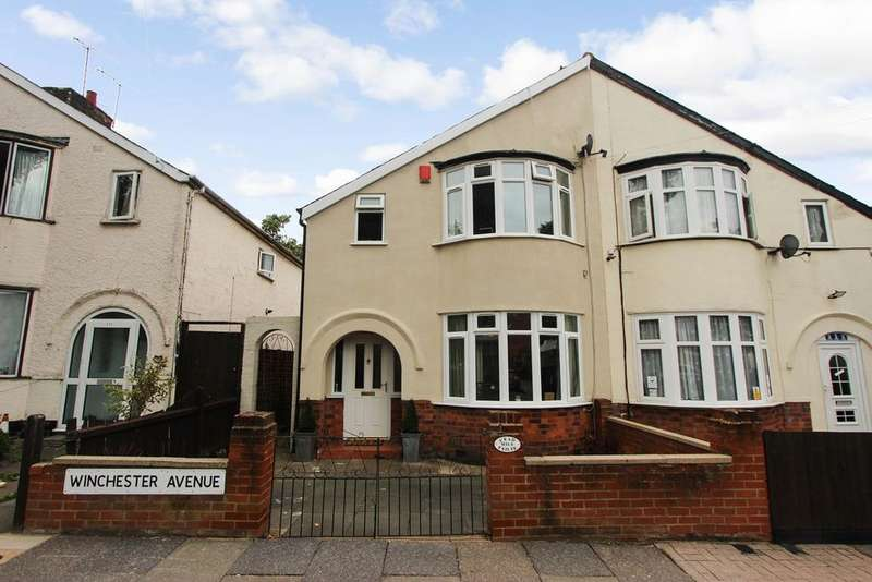 3 Bedrooms Semi Detached House for sale in Winchester Avenue, Leicester, LE3