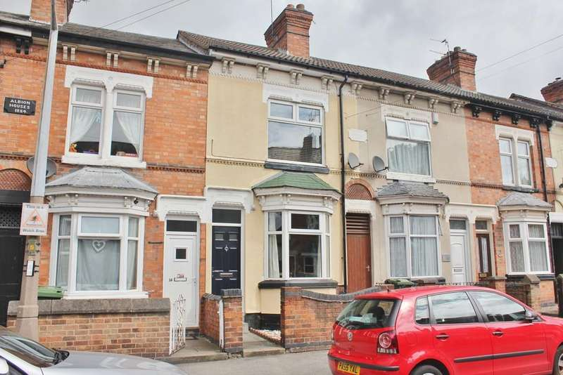 3 Bedrooms Terraced House for sale in Timber Street, South Wigston