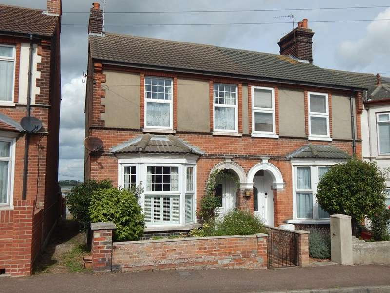 3 Bedrooms End Of Terrace House for sale in NELSON ROAD, DOVERCOURT, HARWICH CO12