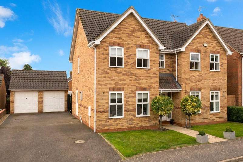 4 Bedrooms Detached House for sale in Brambling Walk, Rippingale, Bourne, PE10