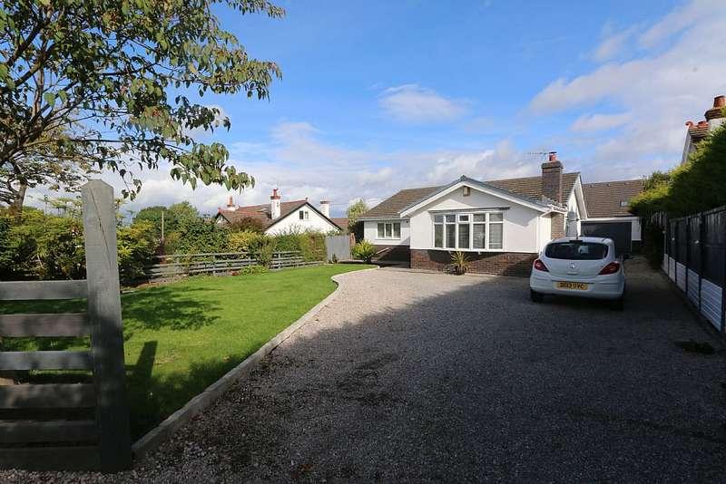 3 Bedrooms Detached Bungalow for sale in Alltami Road, Buckley, Flintshire, CH7 3PF