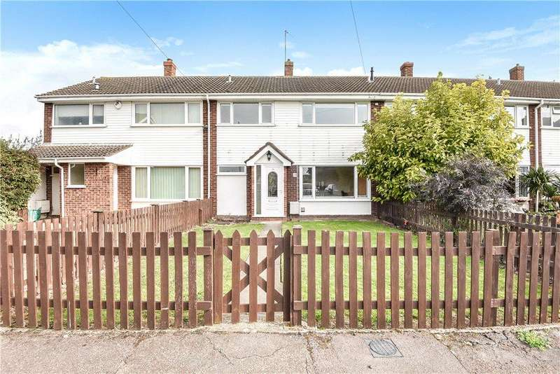 5 Bedrooms Terraced House for sale in Springfield Way, Cranfield, Bedford, Bedfordshire