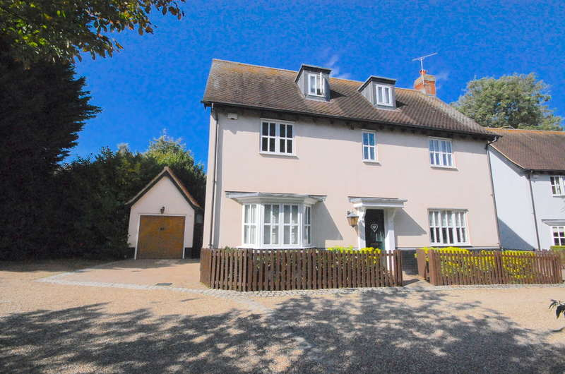 5 Bedrooms Detached House for sale in Holly Brook, Bocking, Braintree, CM7