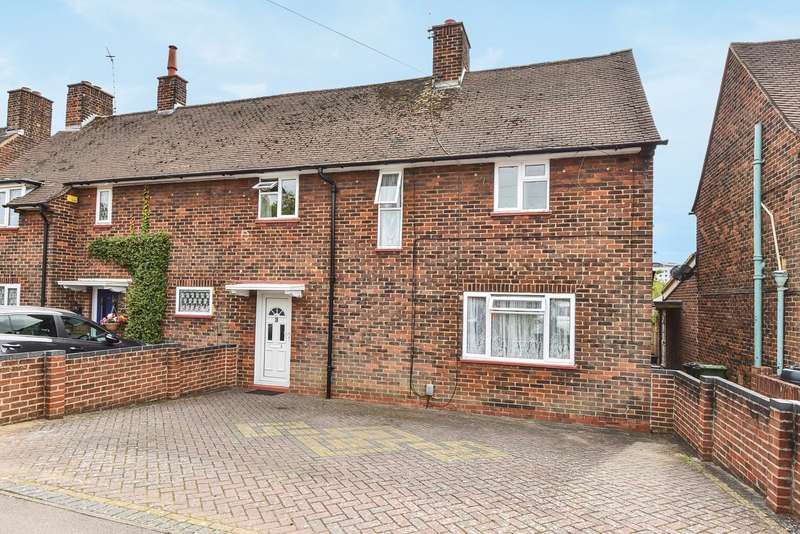 3 Bedrooms Semi Detached House for sale in Norden Close, South View, Basingstoke, RG21