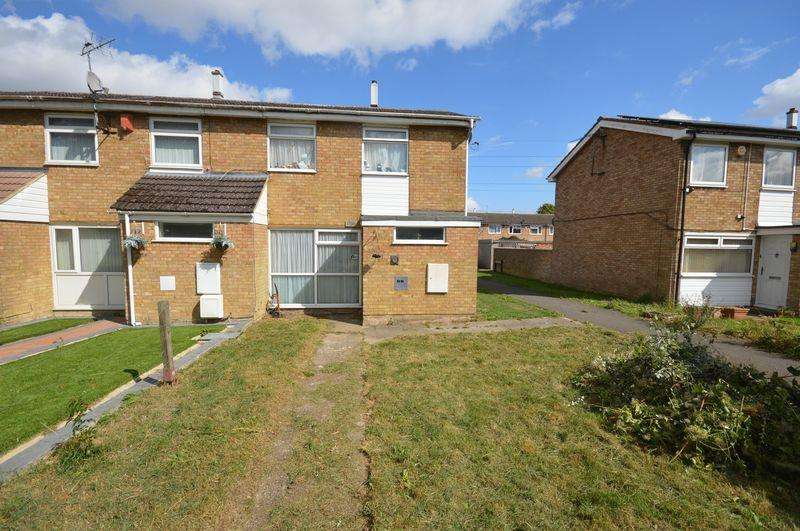 2 Bedrooms End Of Terrace House for sale in Grangeway, Dunstable