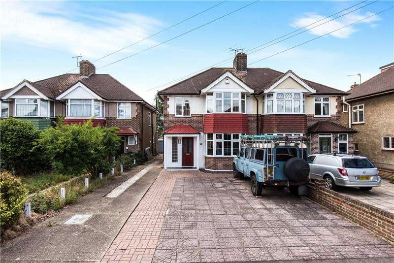 3 Bedrooms Semi Detached House for sale in Shirley Close, Hounslow, TW3