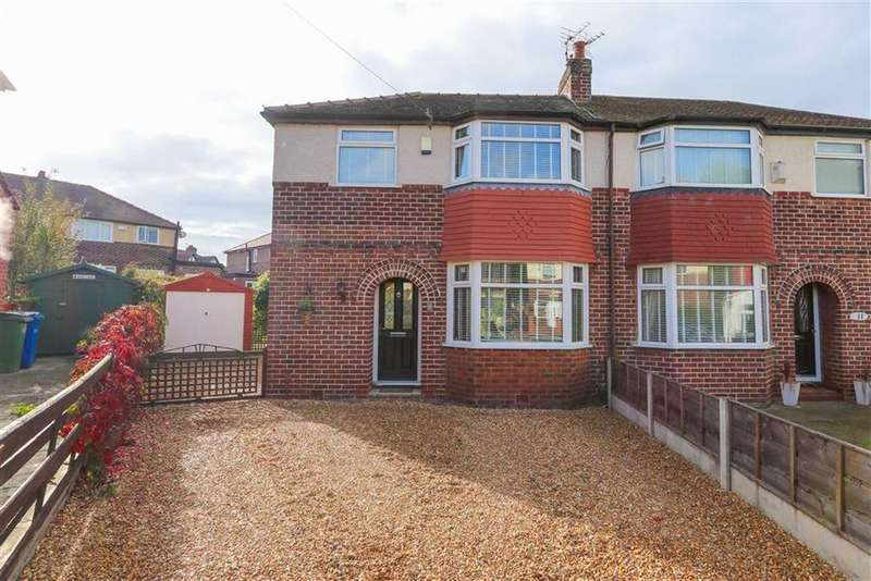 3 Bedrooms Semi Detached House for sale in Wicklow Avenue, Cheadle Heath, Stockport