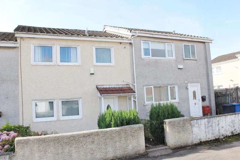 2 Bedrooms Terraced House for sale in Pappert Estate, Bonhill G83