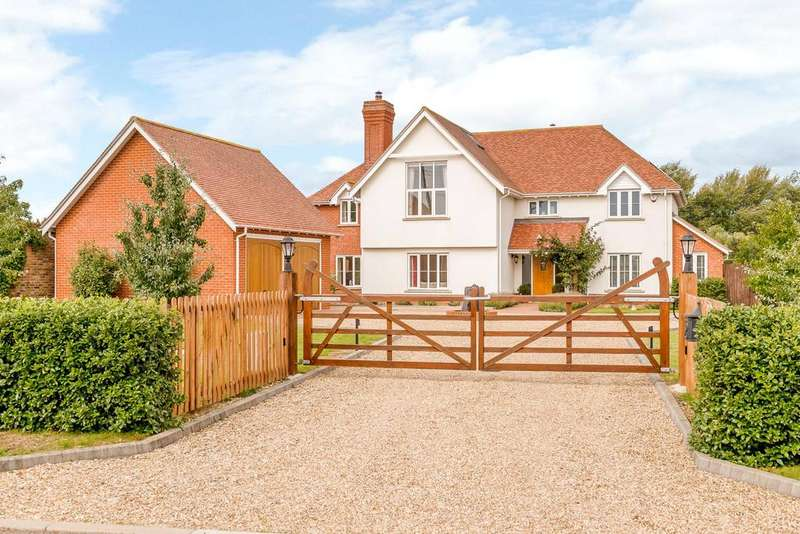 5 Bedrooms Detached House for sale in School Green, Blackmore End, Braintree, Essex